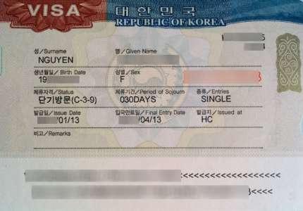 Cách Xin Visa Du Lịch Hàn Quốc Nhanh Nhất