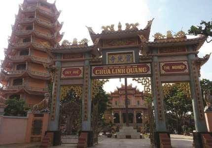 Khu di tích Chùa Linh Quan - Quan Lạn