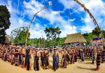 Lễ hội mừng lúa mới ở Tây Nguyên