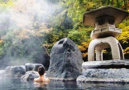Thư giãn bên suối khoáng nóng Nhật Bản