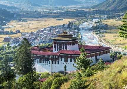 Địa Điểm Du Lịch Bhutan Khám Phá Tu Viện Rinpung Dzong
