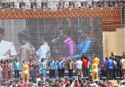 Campuchia tưng bừng lễ hội chào đón năm mới