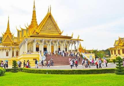 Du lịch Campuchia hút khách
