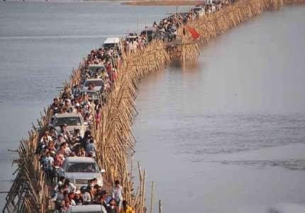 Khám phá cây cầu tre Campuchia