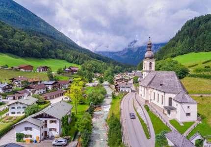 Chiêm ngưỡng vẻ đẹp làng cổ như tranh vẻ ở Đức