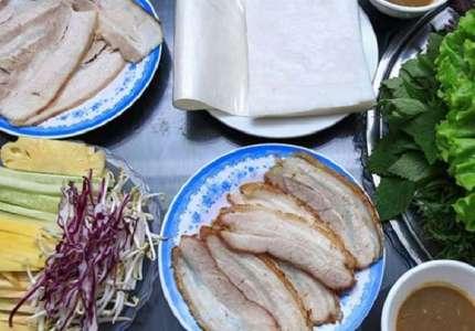 Bánh tráng cuốn thịt heo đặc sản Đà Nẵng