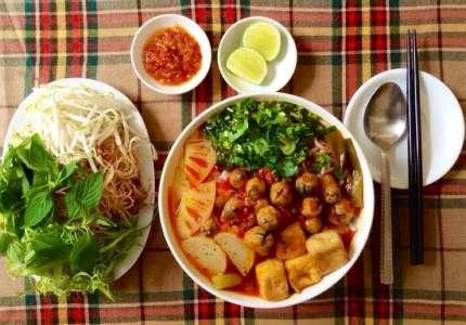 Bún chay đặc sản xứ Huế