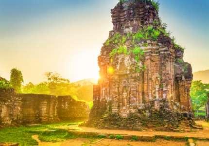Khám phá khu đền tháp Mỹ Sơn một di sản Văn hóa tại Đà Nẵng