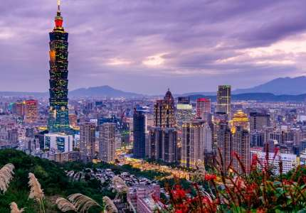 Tới Đài Bắc check-in tại toà tháp cao nhất Đài Loan