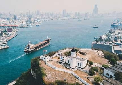 Đi du lịch Đài Loan - Đảo Cijin Cao Hùng