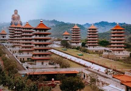 Tham quan Phật Quang Sơn - Đất Phật của xứ Đài