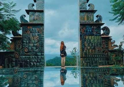 Cổng trời Bali mới xuất hiện ở Đà Lạt