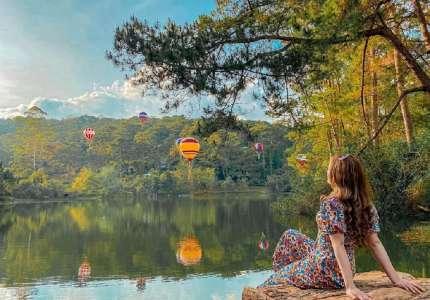 Khu rừng khinh khí cầu điểm check in hot nhất Đà Lạt