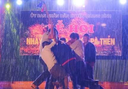 Lễ hội kéo chày của người Pà Thẻn Hà Giang