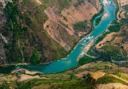 Tham quan dòng sông Nho Quế Hà Giang