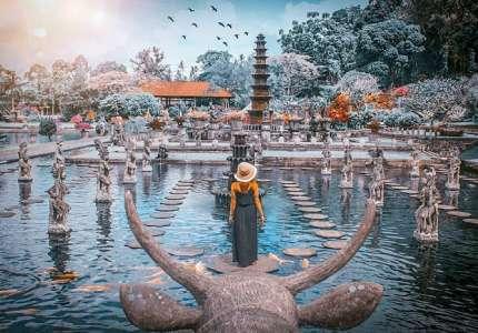 Cung điện nước Tirta Gangga Indonesia