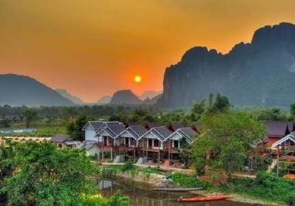 Du lịch Lào - Khám phá Vang Vieng