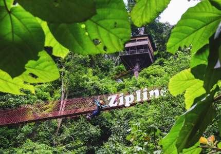 Những trò chơi mạo hiểm hút du khách tại Lào