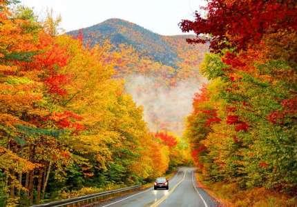 Chiêm ngưỡng vẻ đẹp sắc thu tại bờ Đông Nước Mỹ