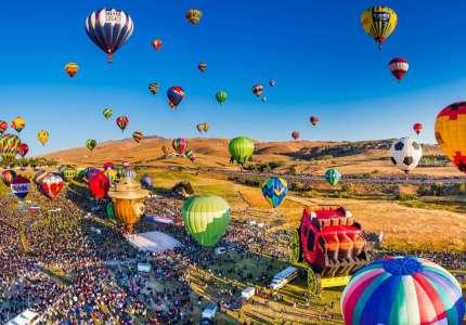 Lễ hội khinh khí cầu Quốc Tế tại Mỹ