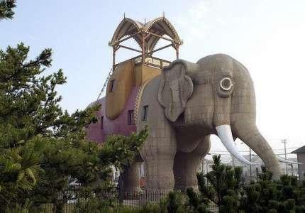 Tòa nhà hình con Voi Lucy điểm đến độc lạ ở Mỹ