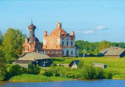 Bức tranh làng quê nước Nga bên dòng Volga - Baltic