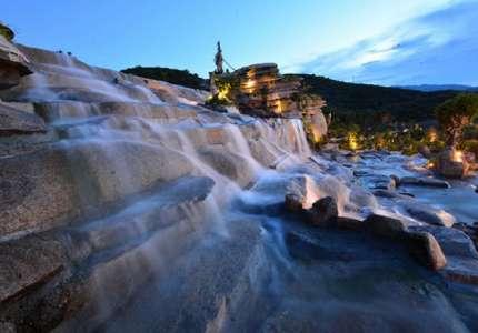 Khu tắm bùn khoáng trên núi Hòn Tằm Nha Trang