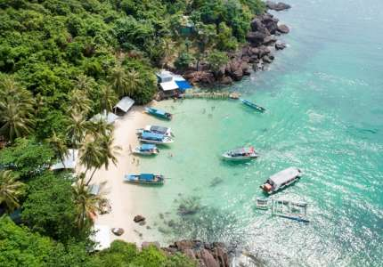 Khám phá khu du lịch Nam Đảo Phú Quốc