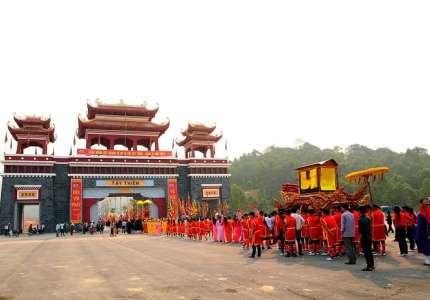 Lễ hội Tây Thiên Tam Đảo