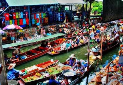 6 khu chợ nổi thu hút du khách ở Thái Lan