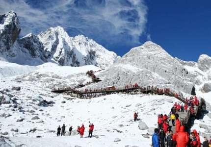 Tham quan núi Tuyết Ngọc Long - Trung Quốc