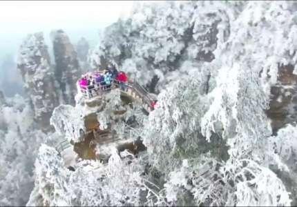 Trải nghiệm công viên băng tuyết lớn nhất Trung Quốc