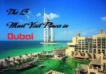 15 địa điểm không nên bỏ qua để có chuyến du lịch Dubai trọn vẹn