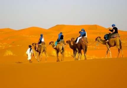 Trải nghiệm một mùa hè tại Sa Mạc Dubai