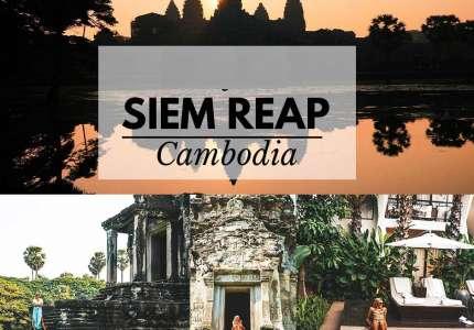 Hành trình điểm đến Siem Reap Campuchia