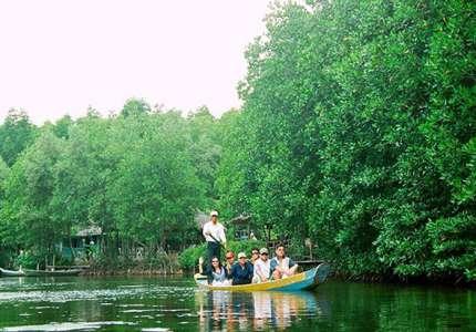 Khu rừng nguyên sinh ngập mặn ở Cần Giờ đẹp nhất Đông Nam Á