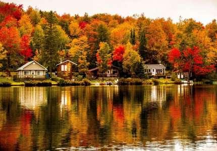 Du lịch mùa thu Bắc Mỹ