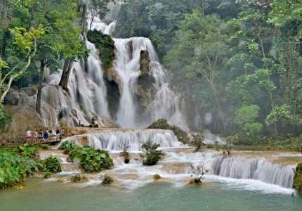 Tham quan Thác Kuang Si Luang Prabang Lào