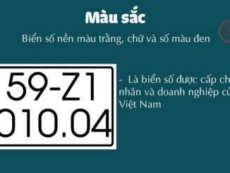 Biển số xe các quận huyện của Hà Nội và TP HCM