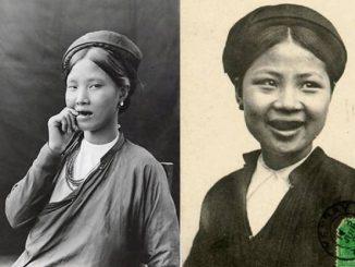 Tục nhuộn răng đen của người Việt xưa