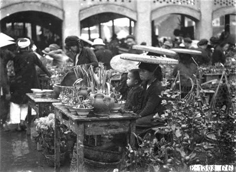 Tet in Hanoi in the old days