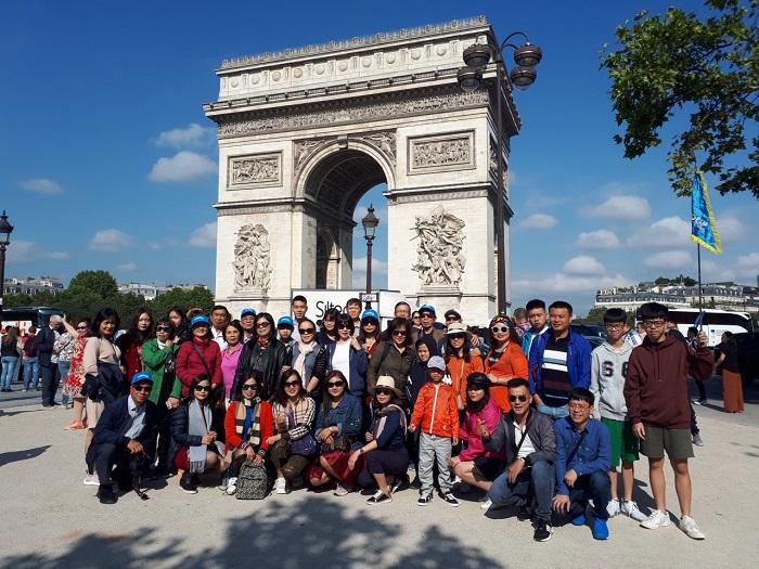 Du Lịch Châu Âu 10 Ngày 9 Đêm Pháp - Thụy Sỹ - Ý