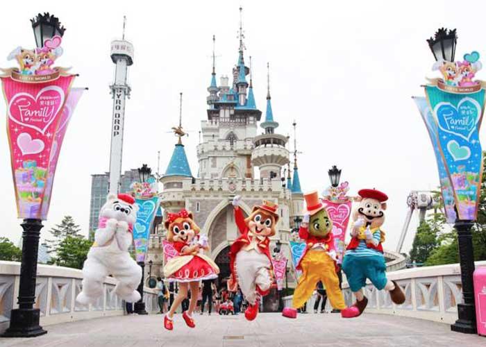 Tour Du Lịch Hàn Quốc 5 Ngày 4 Đêm Tết Nguyên Đán - Lotte World - Trượt Tuyết