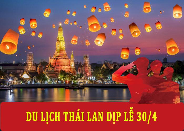 Du Lịch Thái Lan 5 ngày 4 đêm Dịp Lễ 30/4-1/5 từ Hà Nội