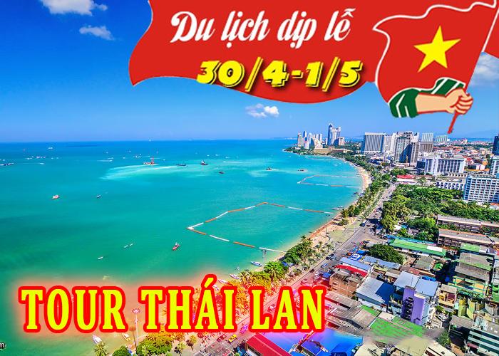 Tour du lịch Thái Lan 5 ngày 4 đêm dịp lễ 30/4 và 1/5