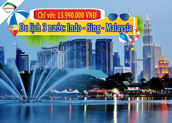 Du Lịch Singapore – Indonesia – Malaysia 6 ngày 5 Đêm
