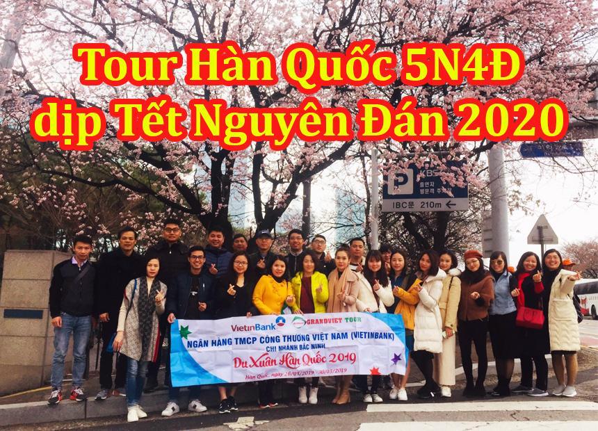 Du Lịch Hàn Quốc 5 Ngày 4 Đêm Tết Nguyên Đán 2020 Từ Hà Nội