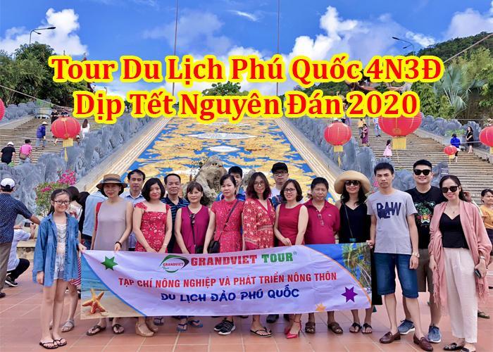 Tour Du Lịch Phú Quốc 4 Ngày 3 Đêm Tết Nguyên Đán 2020