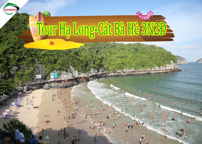 Tour du lịch Hạ Long - Cát Bà 3 ngày 2 đêm