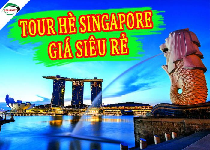 Tour Du Lịch hà Nội – Singapore 4 Ngày 3 Đêm